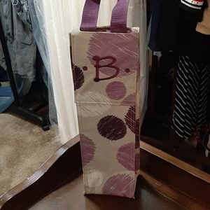 "Thirty-One Wine Cooler with a ""B"""